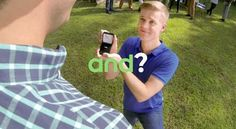 Android commercial gay wedding proposal!