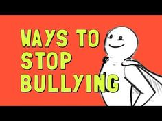 Ways to stop bullying & worksheet activity.
