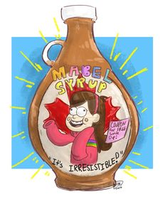 Mabel Syrup by on DeviantArt Dipper Y Mabel, Mabel Pines, Best Cartoons Ever, Cool Cartoons, Cartoon Shows, Cute Cartoon, Desenhos Gravity Falls, Gravity Falls Funny, Dipcifica