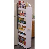 Pull Out Pantry For A Tiny Small Space Kitchen This Is A