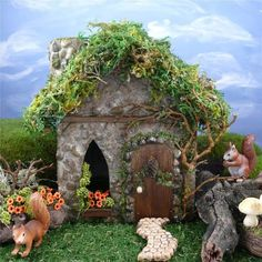 Google Image Result for http://www.miniature-gardens.com/images/squirrel-fairy-house-thumb.jpg