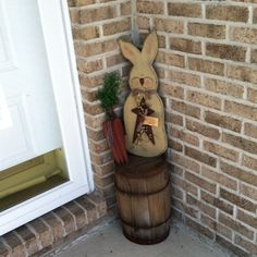 Primitive Easter; I already have the barrel all I need is the rabbit and the carrots.