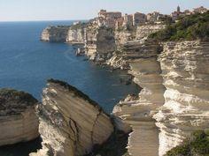 Bonifacio, Korzika, Franciaország.