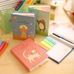Intelligent 1pc Kawaii Cartoon Creative Stationery Office Supplies School Notebook Diary Panda Bear Notepad Color Random Office & School Supplies
