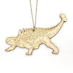Ankylosaurus Christmas Ornament