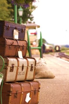 Vintage Luggage     Travel Accessories here: http://www.bagking.com/luggage/travel-duffel-bags.html #luggage