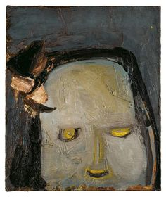 Eva Hesse Spectres 1960, an exhibition of seminal and rarely seen paintings by legendary artist Eva Hesse (1936-1970