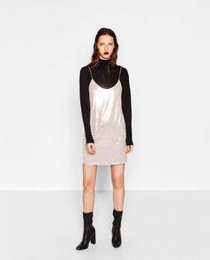 SEQUINNED DRESS-DRESSES-WOMAN | ZARA United Kingdom