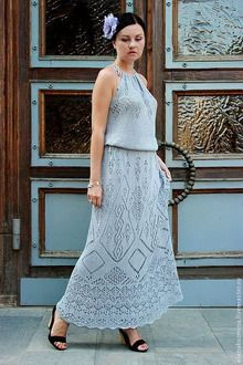 Lace Knitting, Knitting Patterns, Knit Crochet, Knit Lace, Knit Dress, Dress Skirt, Lace Skirt, Crochet Clothes, Crochet Dresses