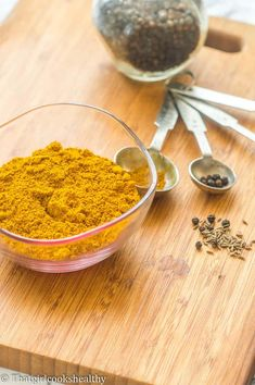 Jamaican curry powder - That Girl Cooks Healthy Jamaican Curry Powder, Homemade Curry Powder, Coconut Beef Curry, Baby Food Recipes, Vegan Recipes, Vegan Food, Curry Roux Recipe, Beef Curry Stew, Curry Ketchup