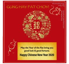 May peace and prosperity come to you in this lunar year of the metal rat! Happy Chinese New Year! Chinese New Year 2020, Happy Chinese New Year, Year Of The Rat, Good Fortune, Peace, Live, Metal, Metals, Sobriety