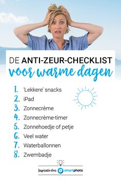 De anti-zeur-checkli
