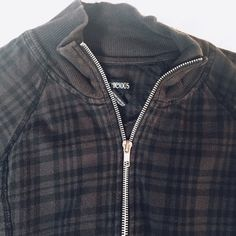 Plaid black grunge hot topic jacket Really cute. Just downsizing. Jackets & Coats