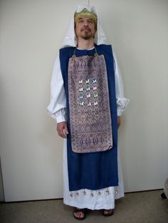 costumes to help teach Bible lessons stories – Trends Pin Art Priest Costume, Costume Dress, Priest Outfit, Christmas Pageant, Christmas Stage, Christmas Costumes, Christmas Ideas, Biblical Costumes, High Priest