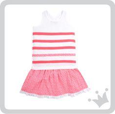Camiseta para niña sin manga de color blanca con rayas de color rosado y una raya con el estampado de leopardo. Falda para niña con estampado de leopardo rosado. http://www.shopepk.com.co/index.php?page=shop.product_details&flypage=flypage_look.tpl&product_id=730&category_id=168&option=com_virtuemart&cat=6&Itemid=69