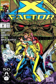 X-Factor comic book cover.