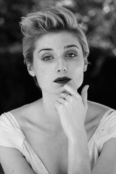 Elizabeth Debicki – B&W Photo Shoot for The Last 2015