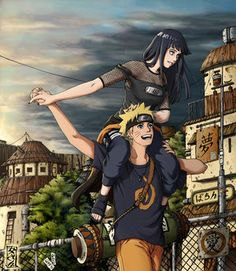 Aww Naruhina <3 They make such a cute couple