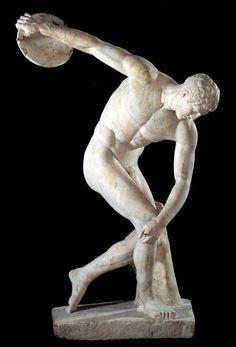 The Discobolus 460-450 BC; British Museum, London, England