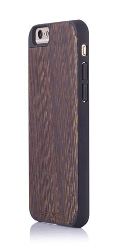 """Amazon.com: iCASEIT Wood iPhone Case - Genuinely Natural, Unique & Premium quality for iPhone 6 (4.7"""" Display) - Wenge / Black: Cell Phones & Accessories"""