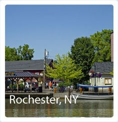Rochester, NY: Your Base for Visits to Finger Lakes, Erie Canal, Genesee Valley and Niagara Frontier