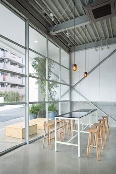 Blue Bottle Coffee Kiyosumi-Shirakawa Roastery & Cafe by Schemata