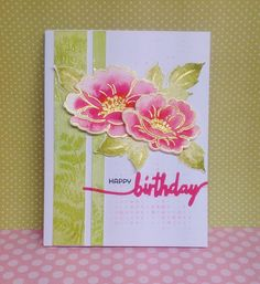 Kathryn's Cards: Make it Monday #241: Ombre Stencils
