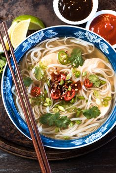 Making this slow cooker chicken pho recipe means I can stay in my pajamas, save a little cash, and avoid the blustery weather. Score.