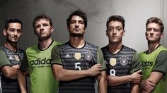 World Champions Germany will be wearing this away kit for Euro 2016.