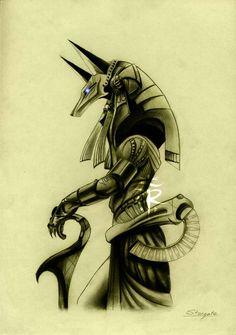 Anubis Stargate by adorindil