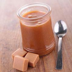 Sauce au caramel salé