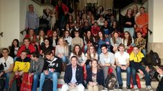 El Alcalde de Segorbe, Rafael Calvo recibe a 50 estudiantes de Holanda