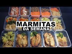 MARMITAS DA SEMANA: Como PREPARO & CONGELO + DICAS - YouTube