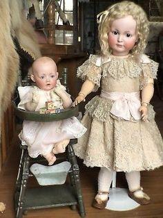ADORABLE-27-Kammer-amp-Reinhardt-117-A-Mein-Leibling-Antique-German-doll