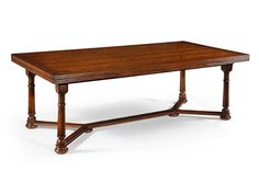 Shop for Jonathan Charles Draw Leaf Dining Table, 493058, and other Dining Room Dining Tables at James Antony Home in Dallas, TX. Materials: (761/4cm)wo138''(3501/2cm). Features: Dark Walnut.