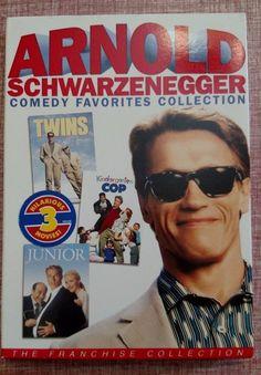 Arnold Schwarzenegger: Twins, Kindergarten Cop, Junior DVD Comedy Collection