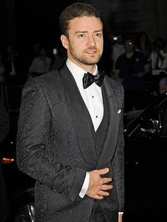 Justin Timberlake pauses for a close-up at the GQ Men of the Year Awards after-party at London's Royal Opera House.