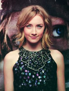 #SaoirseRonan - A really good #actor I loved her in The Host