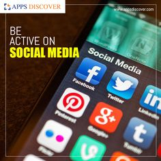 For survival in this industry, it is very important for an organization to have active pages on LinkedIn, Facebook, Instagram, Twitter, Pinterest, YouTube etc.  👍👍👍 #Apps_Discover #App_Marketing App Marketing, Content Marketing, Social Media Marketing, Digital Marketing, Engagement, Facebook Instagram, Survival, Apps, Organization