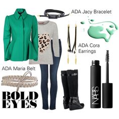 """Bold Winter Street Style"" by adastylesquad on Polyvore"