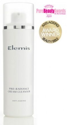 Elemis Pro-Radiance Cream Cleanser offers the power of deep cleansing. Never had an anti-ageing cleanser before, would highly recommend.