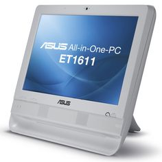 """Asus ET1611PUT-W005G D425 1.8Ghz 2GB 320GB 15.6"""" Win7 Professional All in One Pc"""