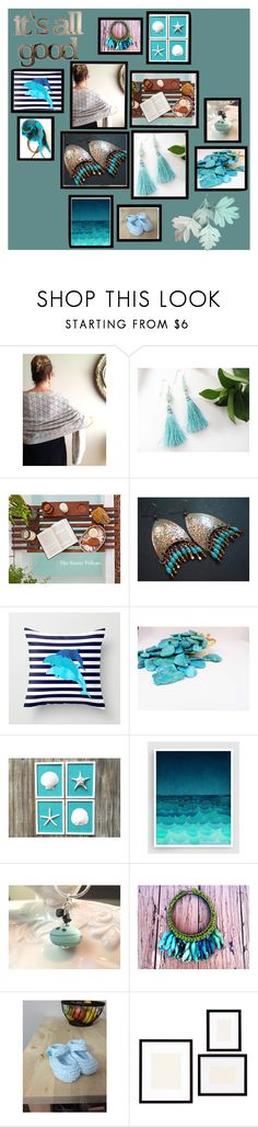 """""""It's All Good"""" by inspiredbyten ❤ liked on Polyvore featuring WALL, Pottery Barn and Letter2Word"""