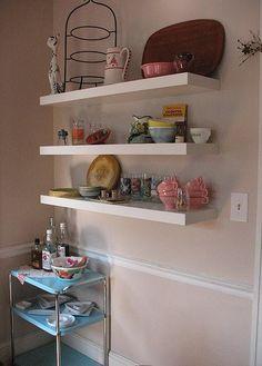 ikea's lack floating shelves « clarissa.jane
