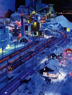 Miniatur Wunderland Hamburg Schweden - Modellbau Modelleisenbahn Hamburg