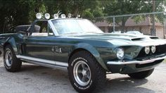 1968 Mustang Shelby GT500 Convertible modified for off road