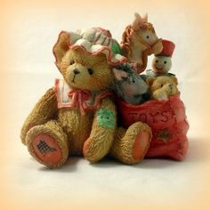 Cherished Teddies Carolyn - Wishing You All Good Things Christmas $14.99 Shipping Included
