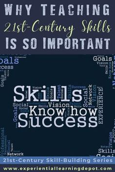 Teaching 21st-century skills to 21st-century learners is essential. Soft skills are the 21st century skills that help students succeed in modern day society. Help them get there and learn why those skills are important with the launch of my new blog series on 21st-century skill-building. Teacher Blogs, Teacher Resources, High School Students, Student Work, 21st Century Classroom, Experiential Learning, Media Literacy, 21st Century Skills, Digital Citizenship