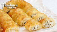 Baklavalık Yufkadan Peynirli Sarıyer Böreği Tarifi | Kadınca Tarifler | Kolay ve Nefis Yemek Tarifleri Sitesi - Oktay Usta