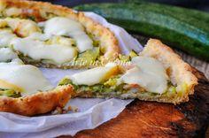 Crostata+di+patate+con+zucchine+e+pancetta+veloce